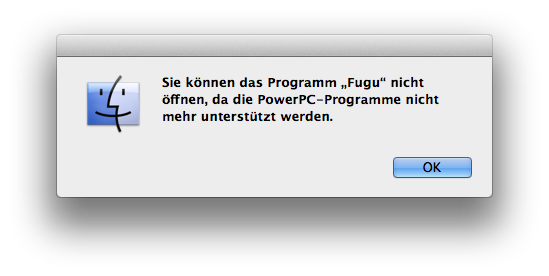 Mac OS X Lion ohne Rosetta?